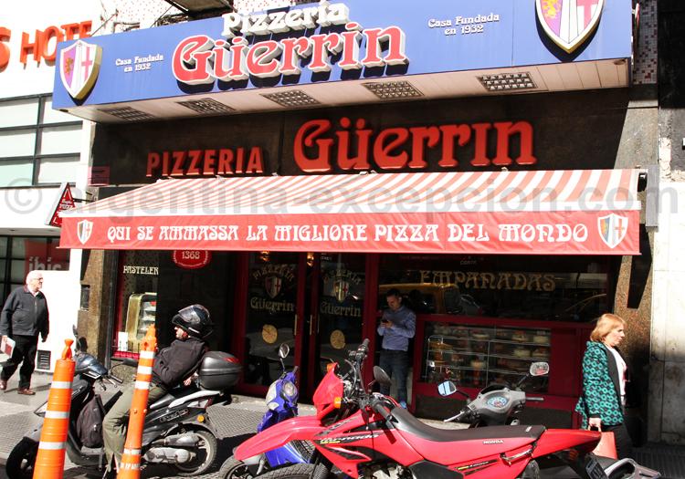 Pizzeria Guerrin, avenue Corrientes