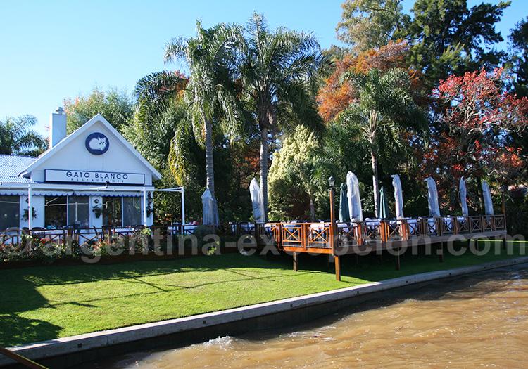 Restaurant Gato Blanco, delta Parana