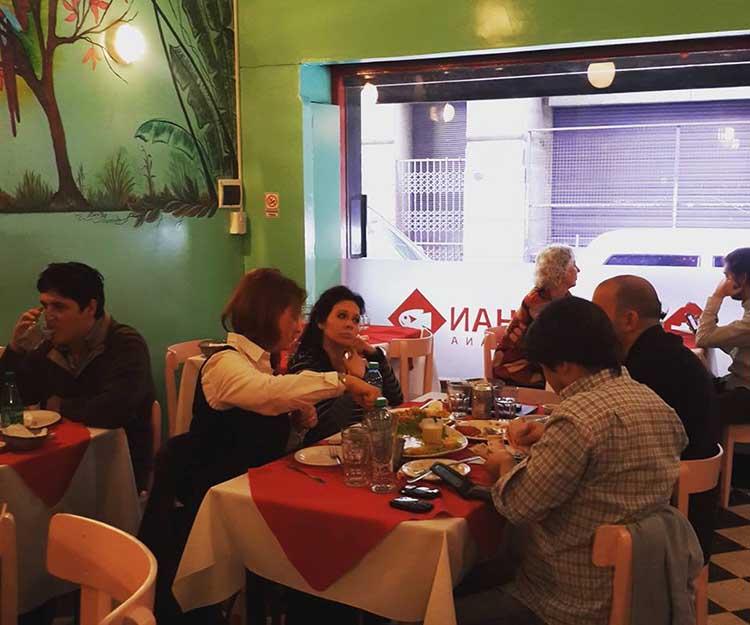 Restaurant péruvien Chan Chan, Congreso