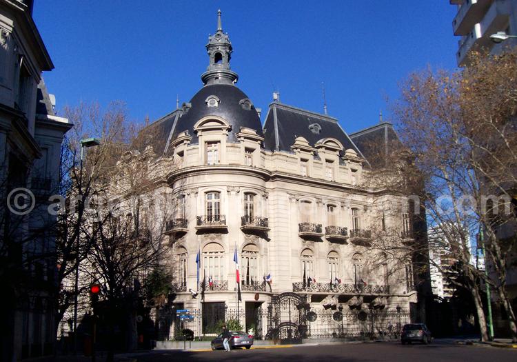 Palacio Ortiz Basualdo, ambassade de France en Argentine