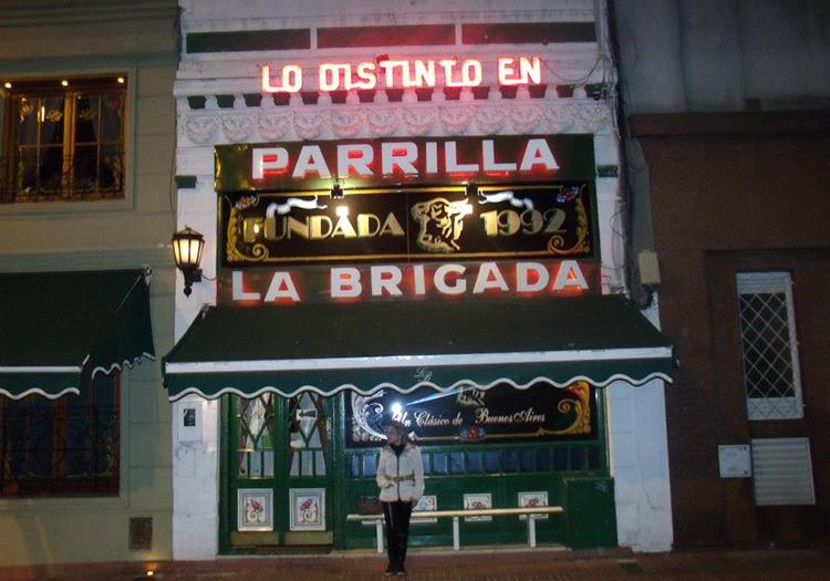 Restaurant parilla La Brigada