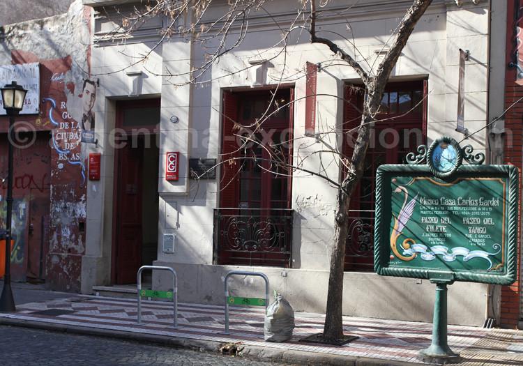Musée Carlos Gardel, zone Abasto