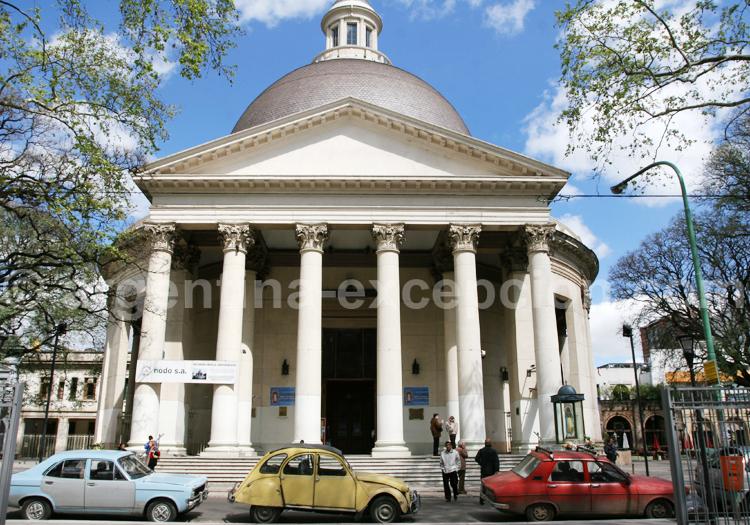 Rotonde de l'église de Belgrano