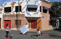 Mosaïques de la rue Lanin, Barracas