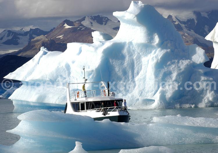 Journée en bateau à bord du Leal, Patagonie