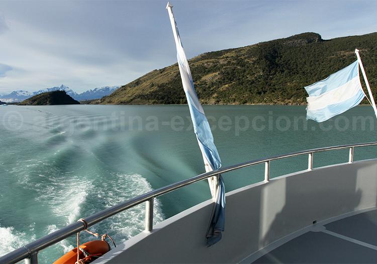 Excursion sur le Lago Argentino