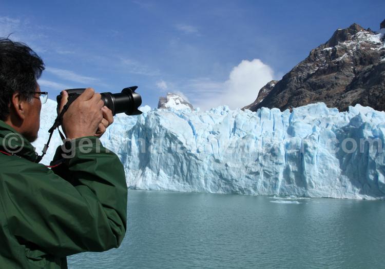 Photographie du glacier Spegazzini