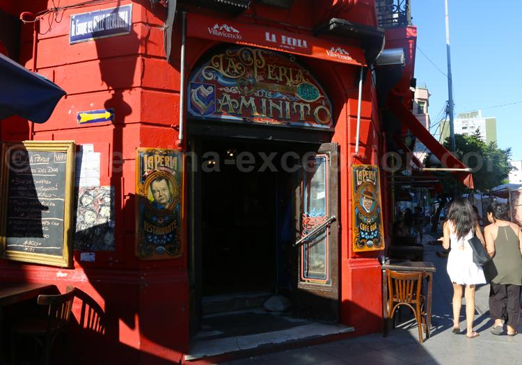 Rue principale de la Boca