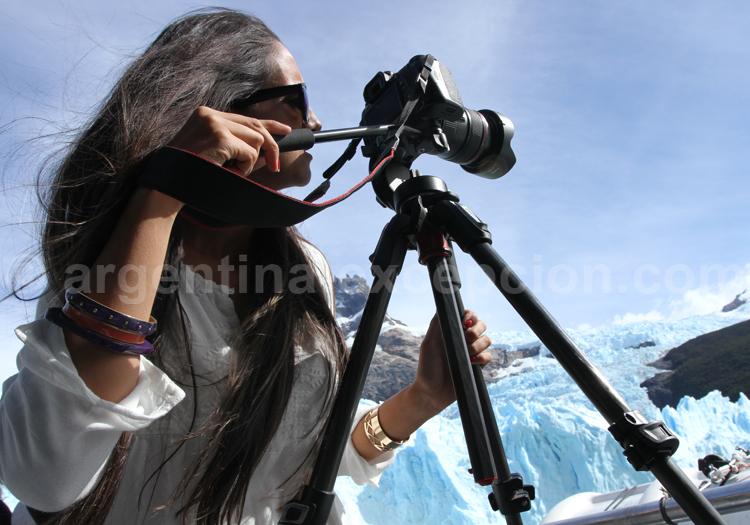 Focus sur le glacier