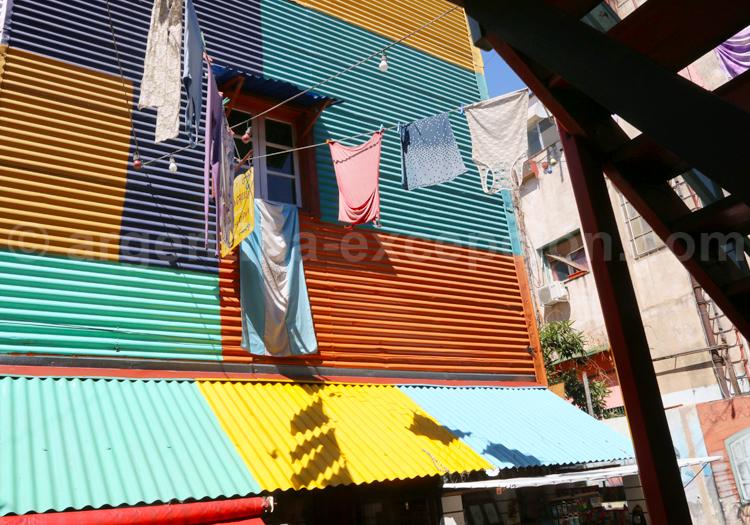 Maisons bariolées, La Boca