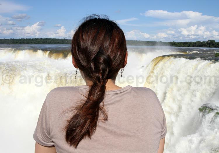 Iguazú, circuit supérieur