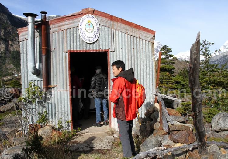 Refuge de montagne, Patagonie