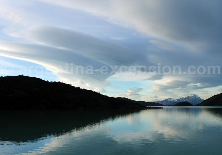 Coucher de soleil, Patagonie