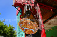 L'Art du fileteado, La Boca