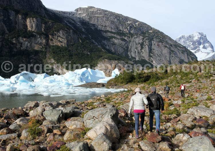 Randonnée au pied des glaciers