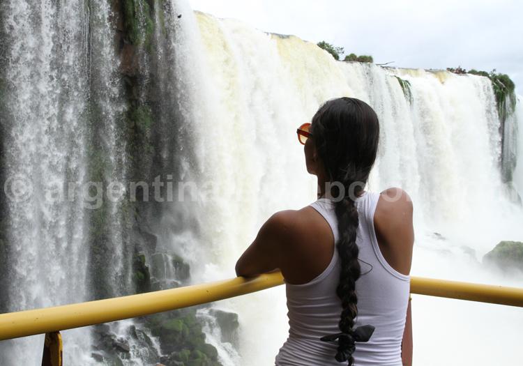 Iguazú, circuit inférieur