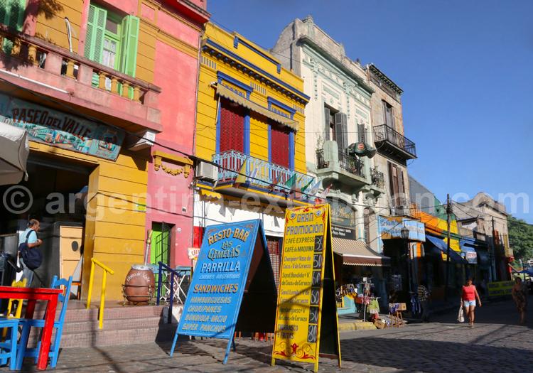 Architecture, La Boca, Argentine