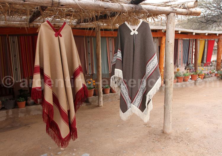 Ponchos, habit traditionnel du gaucho