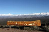 Paysage des Andes, Mendoza