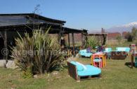 Bodega au pied des Andes