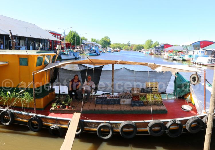 Marché flottant, Tigre