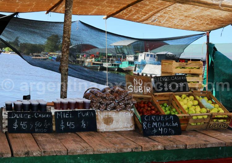 Produits frais, marché aux fruits