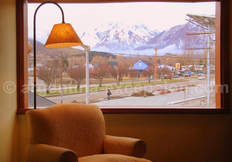 Hosteria Cumbres Blancas, vue sur les montagnes