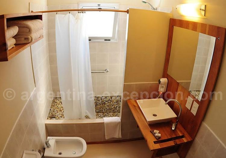 Hosteria del Nomade, Salle de bain