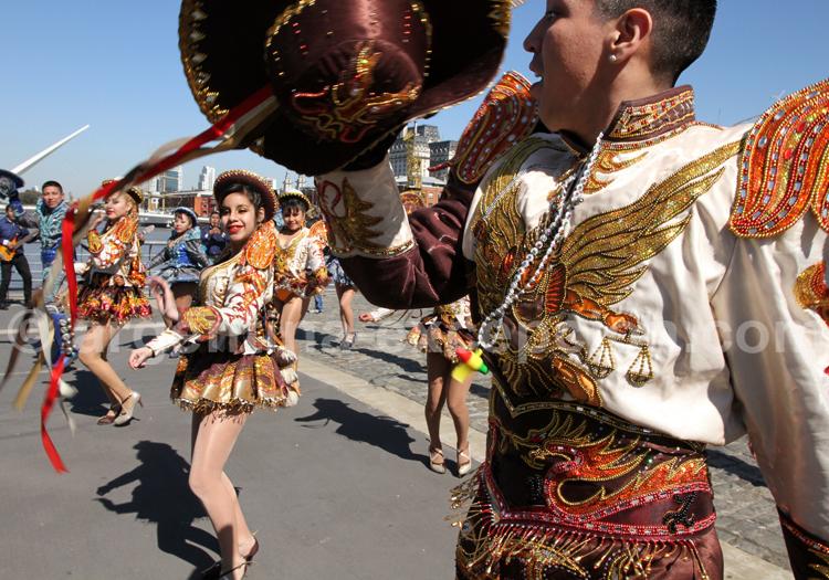 Fête folklorique, Puerto Madero