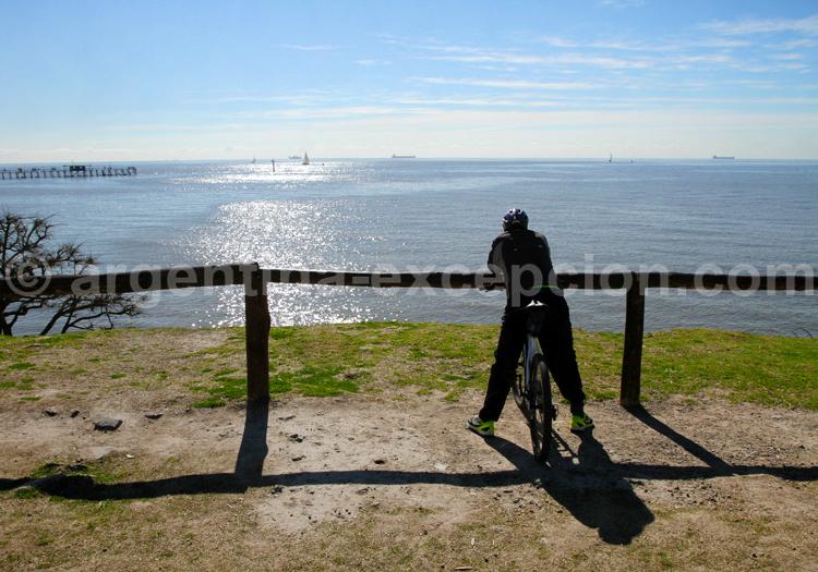 Vue sur le Río de la Plata