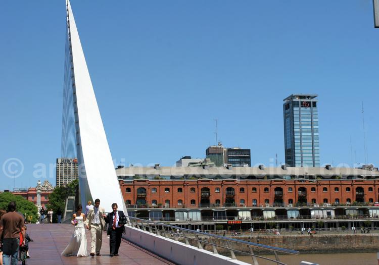 Mariage sur le pont de la femme