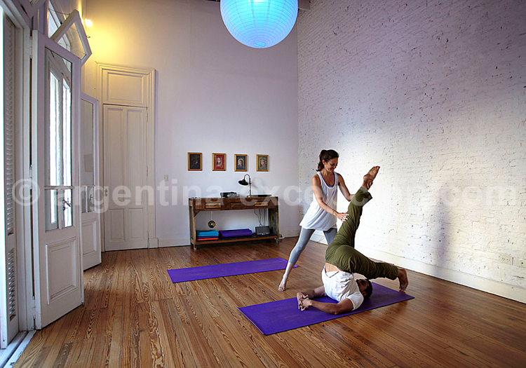 Casa Fino, Cours de Yoga
