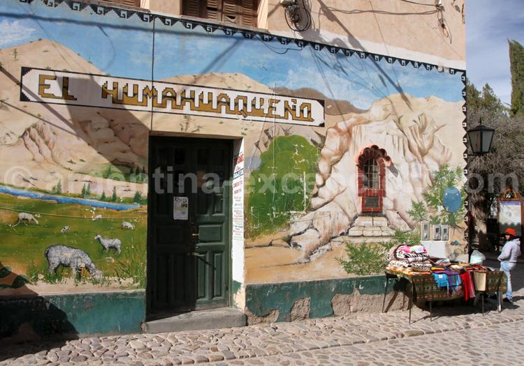 Fresque murale, Humahuaca