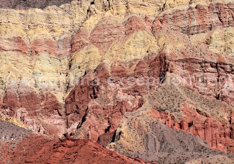 Strates géologiques, NOA