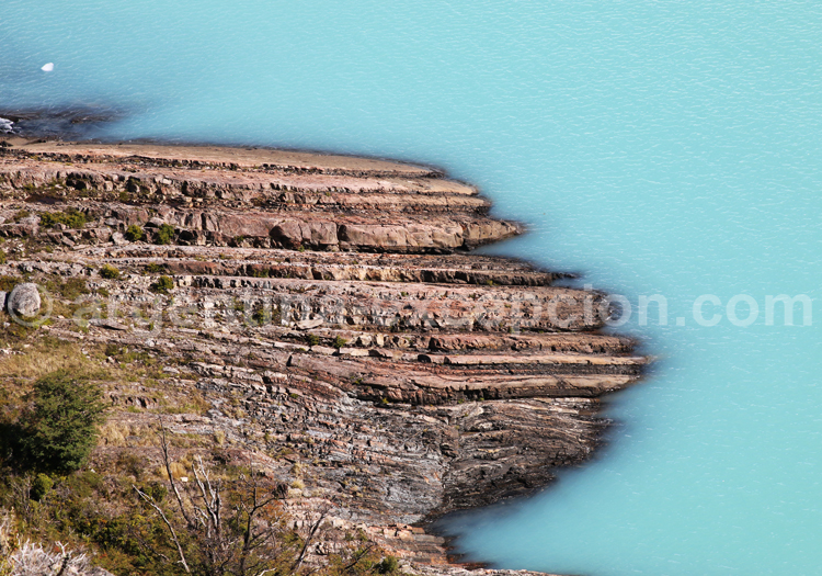 Eaux glaciaires, Patagonie Argentine