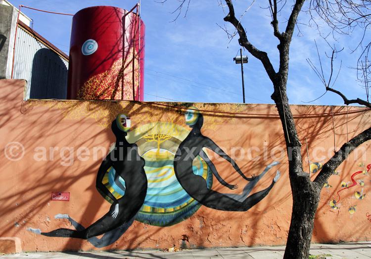 Art urbain, Barracas