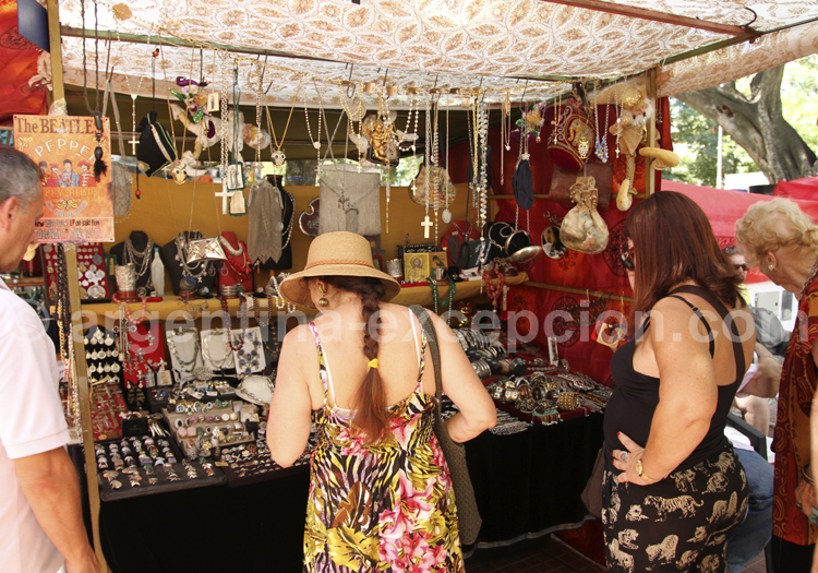 Bijoux et accessoires, San Telmo