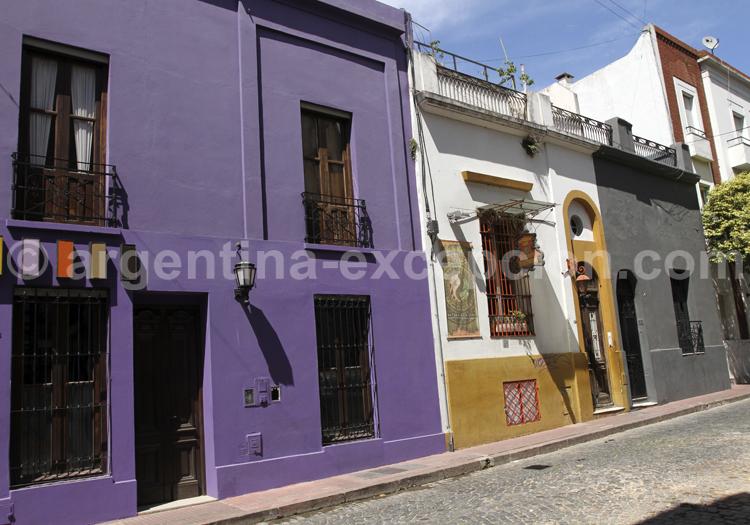 Façade colorée de San Telmo