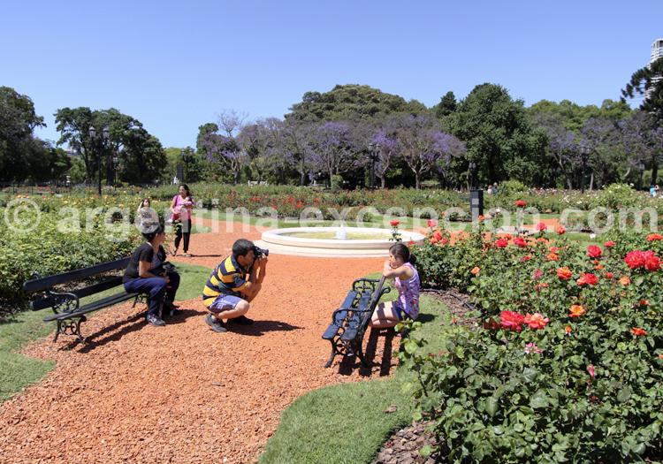 Rosedal, Jardin de Palermo
