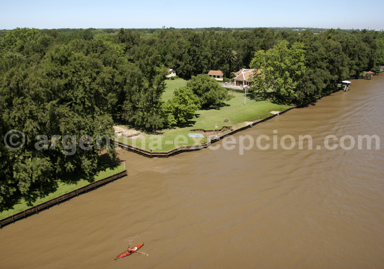 Au fil de l'eau, delta de Tigre