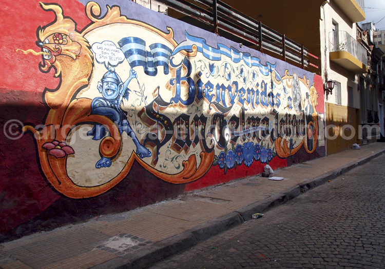 Graffitis, San Telmo
