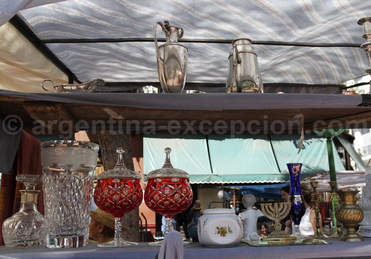 Vaisselle ancienne, San Telmo