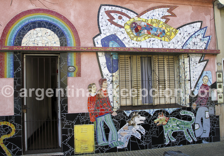 Fresque murale, Barracas