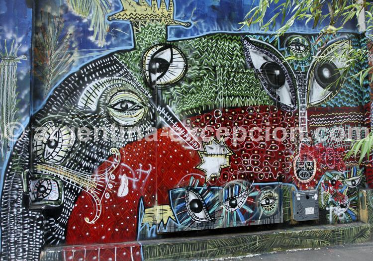Fresque murale, Palermo