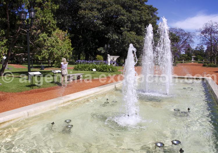 Fontaine du Rosedal, Palermo