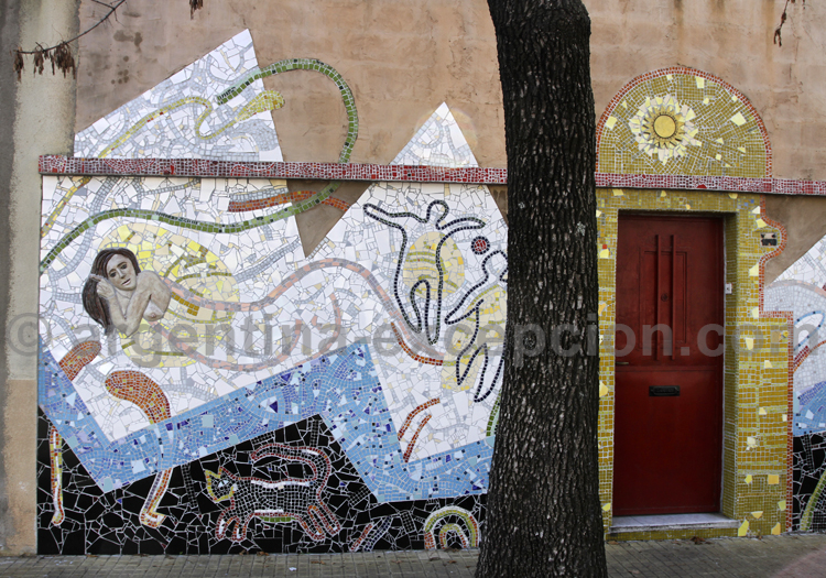 Art de rue, Barracas