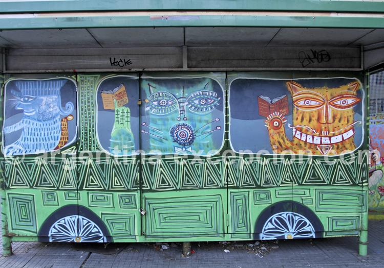 Art urbain, San Telmo