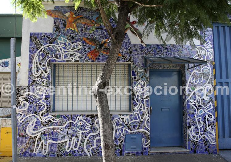 Calle Lanín, Barracas
