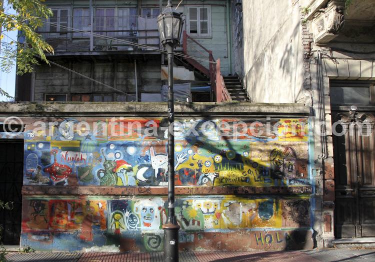 Art mural, Barracas