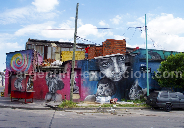 Graffitis, Barracas